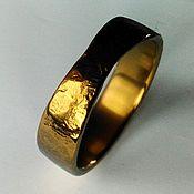 Украшения ручной работы. Ярмарка Мастеров - ручная работа Тантал кольцо кованное. Handmade.