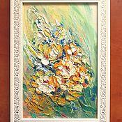 """Картины ручной работы. Ярмарка Мастеров - ручная работа Картины: Картина маслом """"Весна"""". Handmade."""