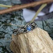 Украшения handmade. Livemaster - original item Silver ring with labradorite