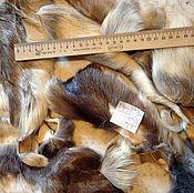 Материалы для творчества handmade. Livemaster - original item Copy of Copy of Fur flap skins Reindeer. Handmade.