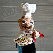 Куклы и игрушки ручной работы. Ярмарка Мастеров - ручная работа Шеф повар Жанлука. Handmade.