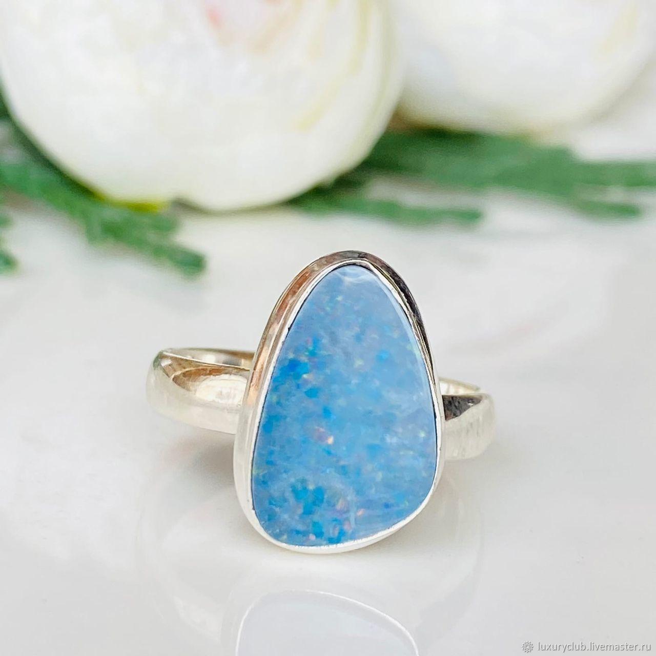Australian opal ring 5.5 ct buy, Rings, Tolyatti,  Фото №1
