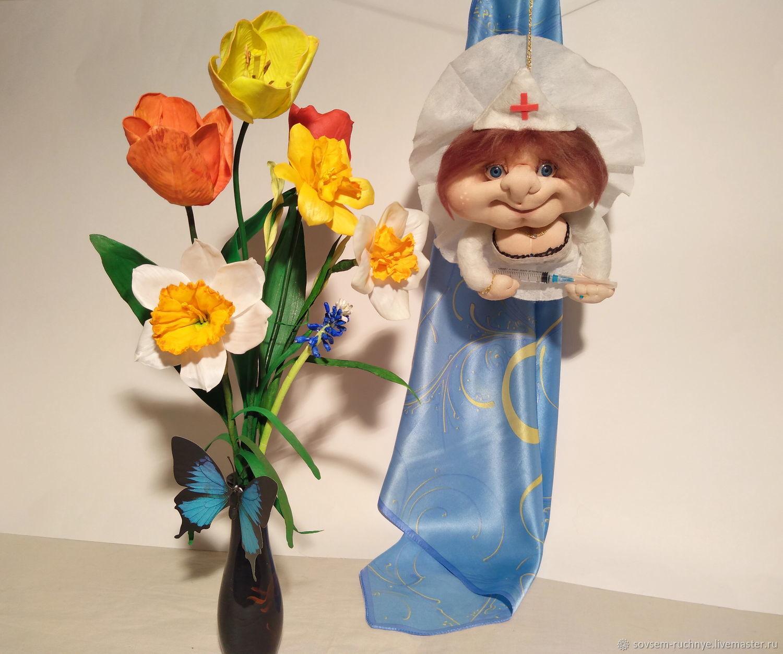 Кукла Попик, Сувениры по профессиям, Великие Луки,  Фото №1