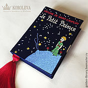 "Сумки и аксессуары handmade. Livemaster - original item Клатч-книга ""Маленький принц"". Handmade."