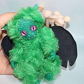 Мягкие игрушки ручной работы. Ярмарка Мастеров - ручная работа Мягкие игрушки: Дракон. Handmade.