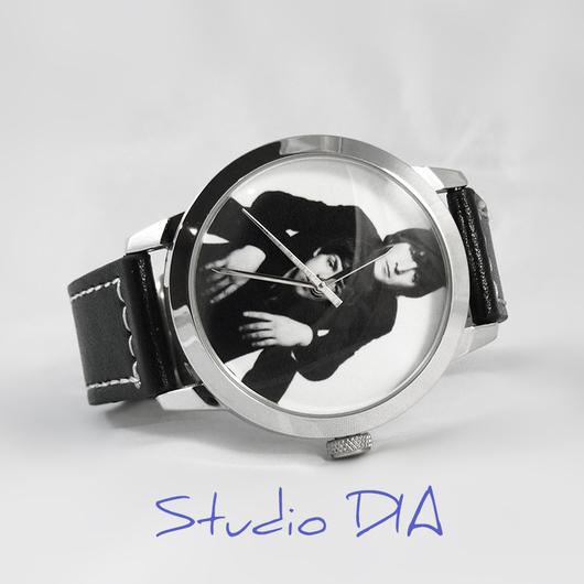 Оригинальные Дизайнерские Часы Beatles - Леннон и Пол. Студия Дизайнерских Часов DIA.