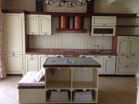 Мебель ручной работы. Ярмарка Мастеров - ручная работа. Купить Итальянская кухня из дерева на заказ копии. Handmade. Комбинированный