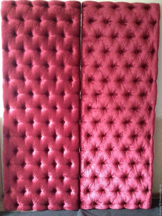 Мебель ручной работы. Ярмарка Мастеров - ручная работа. Купить Панели для снен. Handmade. Стеновые панели, панели для стен, изголовье