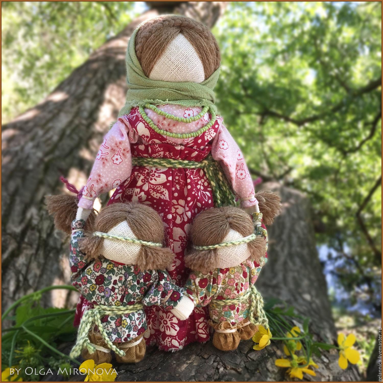 Ведучка с мальчиками, Народная кукла, Санкт-Петербург,  Фото №1