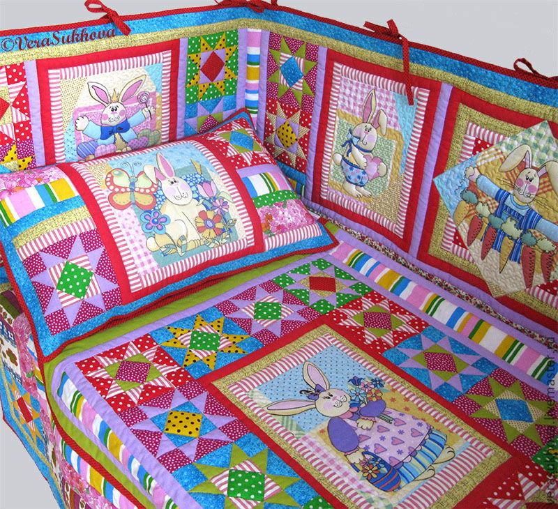 Детские одеяла пэчворк своими руками