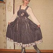 """Одежда ручной работы. Ярмарка Мастеров - ручная работа Бохо-сарафан """"Мисс Совершенство"""". Handmade."""