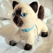Валяный котик Сима