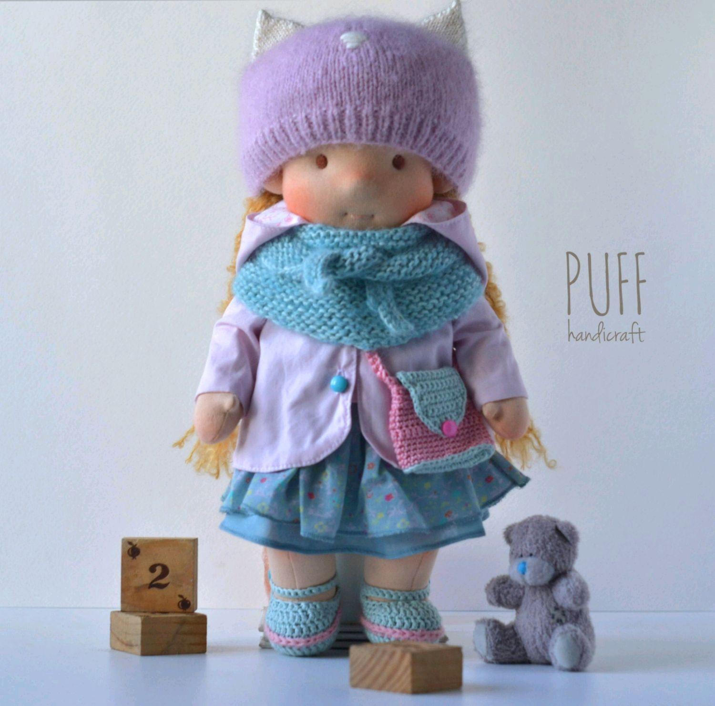 Вальдорфская кукла, Вальдорфские куклы и звери, Одесса,  Фото №1