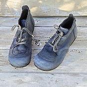 Обувь ручной работы. Ярмарка Мастеров - ручная работа Кожаные ботинки OMG-2. Handmade.