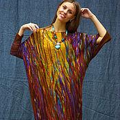 """Одежда ручной работы. Ярмарка Мастеров - ручная работа -30%! Асимметричное платье """"Вернисаж"""". Handmade."""