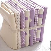 Ткани ручной работы. Ярмарка Мастеров - ручная работа Хлопок Оксфорд. Фиолетовая пастель. Handmade.