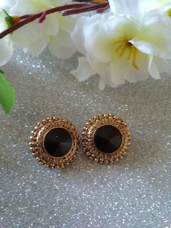 Vintage earrings, Vintage earrings, Vladimir,  Фото №1
