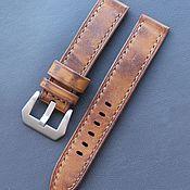 Украшения handmade. Livemaster - original item Hand made watch strap 20 mm. Handmade.