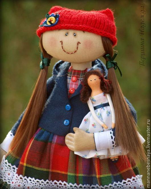 Ароматизированные куклы ручной работы. Ярмарка Мастеров - ручная работа. Купить Фея рукодельница. Девочка шьющая Тильд.. Handmade. Девочка