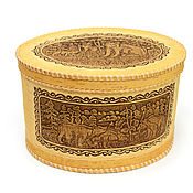 handmade. Livemaster - original item Box of birch bark