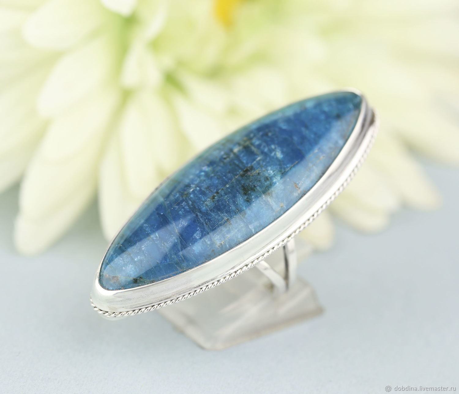 ring with Apatite. Silver, Rings, Moscow,  Фото №1