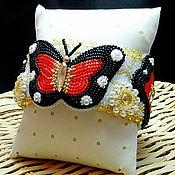 """Украшения ручной работы. Ярмарка Мастеров - ручная работа Браслет """"Полет бабочки"""". Handmade."""