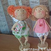 Куклы и игрушки ручной работы. Ярмарка Мастеров - ручная работа Три ангелочка. Handmade.