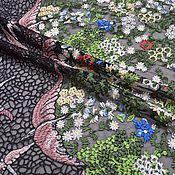 Материалы для творчества handmade. Livemaster - original item Fashion lace embroidery on the grid, Valentino 5. Handmade.