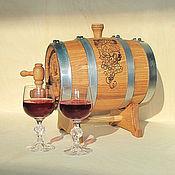 Подарки к праздникам ручной работы. Ярмарка Мастеров - ручная работа Бочка дубовая 10 литров. Handmade.