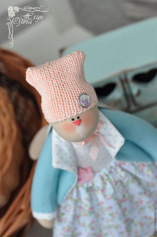 Куклы Тильды ручной работы. Ярмарка Мастеров - ручная работа. Купить Весенняя Зайка. Handmade. Тильда, игрушка ручной работы