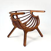 handmade. Livemaster - original item Shell chair for dolls 1:6 (Barbie, Blythe, monster high, etc.), 1:4 MSD. Handmade.