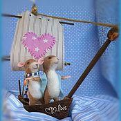 """Куклы и игрушки ручной работы. Ярмарка Мастеров - ручная работа Непотопляемый кораблик любви """"Мышаник"""". Handmade."""