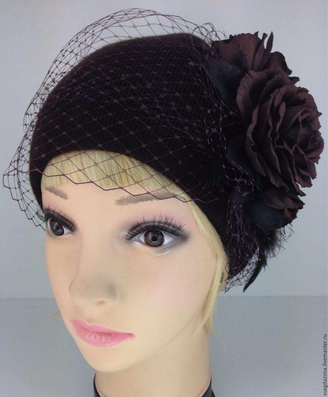 Как сделать своими руками шапку с вуалью 194