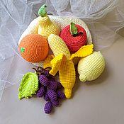 Куклы и игрушки handmade. Livemaster - original item Knitted fruit set.. Handmade.