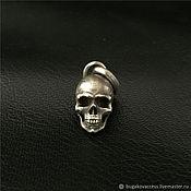 Украшения handmade. Livemaster - original item Pendant Skull of silver 925. Handmade.