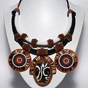 """Украшения ручной работы. Ярмарка Мастеров - ручная работа Колье """"Африканский шаман"""". Handmade."""