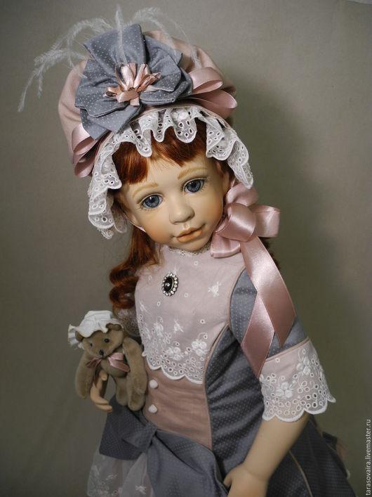 Коллекционные куклы ручной работы. Ярмарка Мастеров - ручная работа. Купить Девочка со старинной открытки от Rose Marie Strydom Резерв.. Handmade.