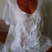 Блузки ручной работы. Ярмарка Мастеров - ручная работа Бохо-блузка. Handmade.