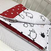 Для дома и интерьера ручной работы. Ярмарка Мастеров - ручная работа Стёганное одеяло. Handmade.