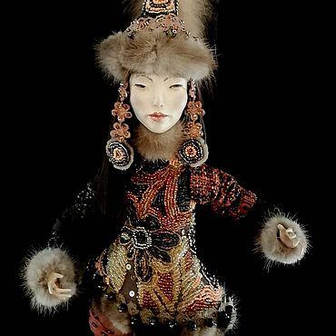 Куклы и игрушки ручной работы. Ярмарка Мастеров - ручная работа Куклы: Зимняя кукла. Handmade.