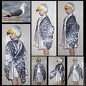 Работы для детей, ручной работы. Ярмарка Мастеров - ручная работа Костюм чайки (костюм на заказ, чайка). Handmade.