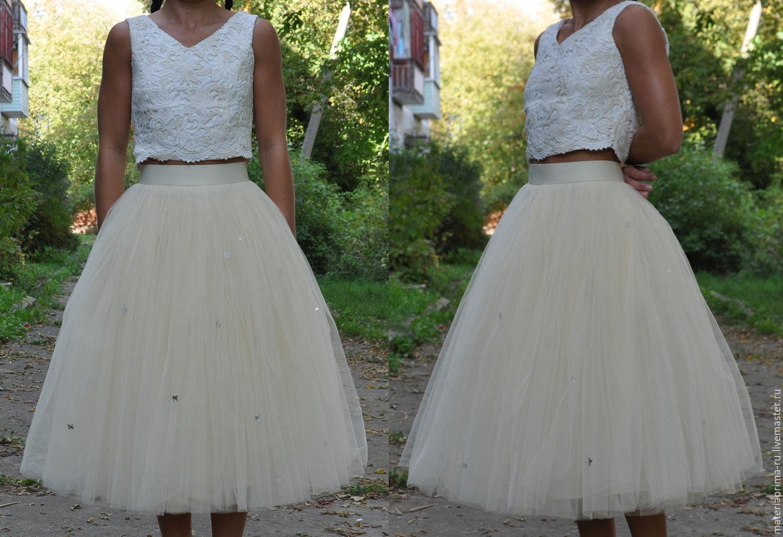 Фатиновая юбка с доставкой