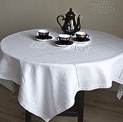 Для дома и интерьера handmade. Livemaster - original item Tablecloth white 147/147 4 Kuban ( napkins optional. Handmade.