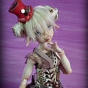 Куклы и игрушки ручной работы. Ярмарка Мастеров - ручная работа Kristi pink steampunk. Handmade.