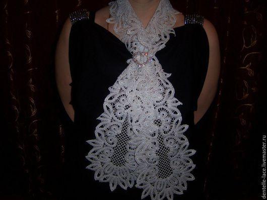 Другие виды рукоделия ручной работы. Ярмарка Мастеров - ручная работа. Купить Сколок галстука -шарфа. Артикул VIA72-12-96. Handmade.