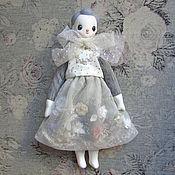 Куклы и пупсы ручной работы. Ярмарка Мастеров - ручная работа Кукла Мори №10. Цветы под снегом. Handmade.