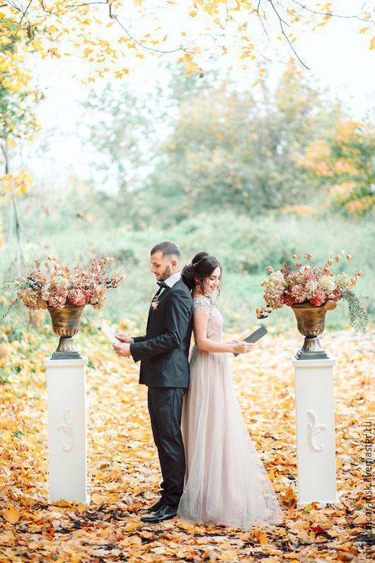 Свадебные цветы ручной работы. Ярмарка Мастеров - ручная работа. Купить Оформление свадьбы под ключ, президиум, букет невесты. Handmade.