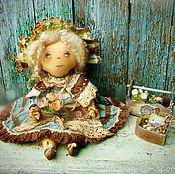 Куклы и игрушки ручной работы. Ярмарка Мастеров - ручная работа Мне утро улыбается цветами.... Handmade.