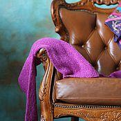 """Одежда ручной работы. Ярмарка Мастеров - ручная работа Легкий свитерок из альпаки с пайетками """"Фуксия"""". Handmade."""