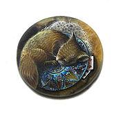 Сувениры и подарки ручной работы. Ярмарка Мастеров - ручная работа Спящая  соня на симбирците. Handmade.